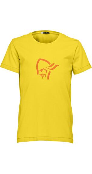 Norrøna Junior /29 Cotton Logo T-Shirt Mellow Yellow
